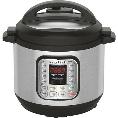 $131.66 • Buy Instant Pot IP-DUO80 8 Qt 7-in-1 Multi- Use Programmable Pressure Cooker, Rice