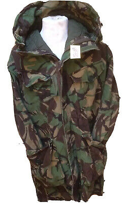 Used Genuine Heavy Weight Parka Man's ( Cold Weather ) Woodland DPM 170/104 #738 • 34.95£
