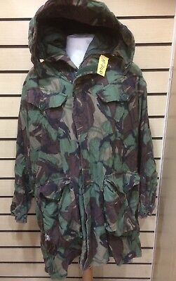 £34.95 • Buy Genuine Heavy Weight Parka Man's ( Cold Weather ) Woodland DPM 170/104 Used #740