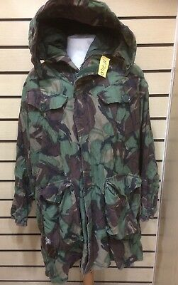 Used Genuine Heavy Weight Parka Man's ( Cold Weather ) Woodland DPM 170/104 #740 • 34.95£