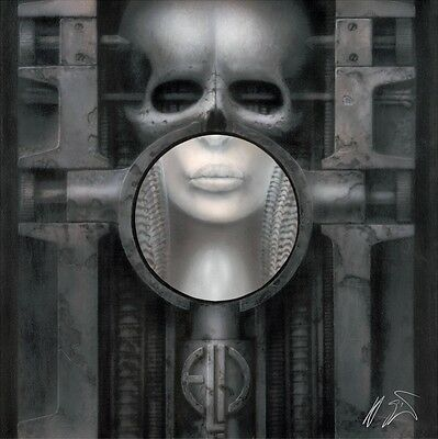 H R GIGER - ELP Fine Art Print On Canvas, Numbered Edition • 412.62£