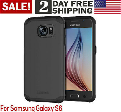 $ CDN15.06 • Buy Samsung Galaxy S6 Case Shock Absorption Ultra Slim TPU And Replaceable PC Cover