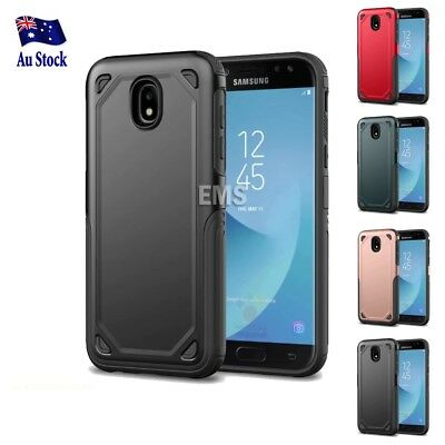 AU5.99 • Buy For Samsung Galaxy J5 J7 Pro & A8 J2 Pro 2018 Heavy Duty Shockproof Case Cover