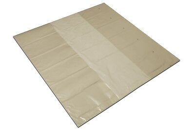 Regranulate PE Pallet Cover Plastic Bag Sack Transparent Pallet Tarp Euro Pallet • 16.39£