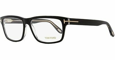 d64161cf29 Tom Ford TF 5320 005 Black Striped Transparent   Demo Lens 56mm Eyeglasses  • 127.95