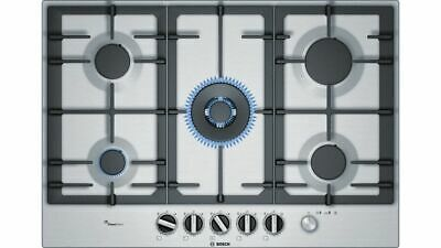 Bosch PCQ7A5M90 Stainless Steel Gas Hob With FlameSelect 75cm Serie 6 • 399£