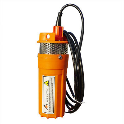 DC 24V Submersible Deep Well Water Pump Solar Battery System For Garden Watering • 61.99£