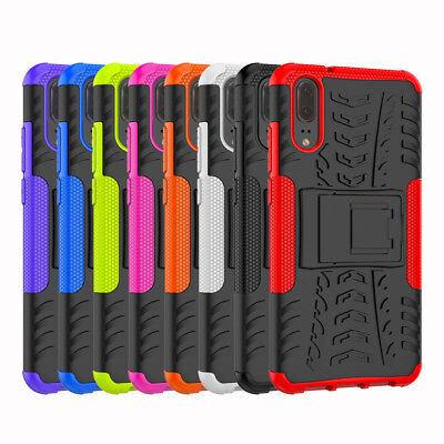 Heavy Duty Gorilla Shockproof Kickstand Military Builder Case Cover For Huawei  • 4.25£