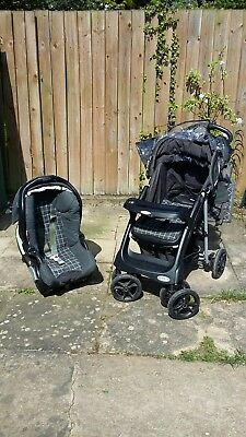 Graco Travel System Buggy With Car Seat • 30£