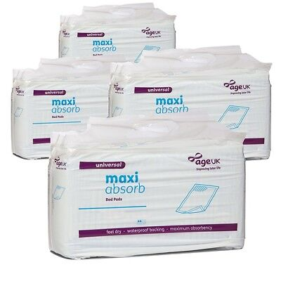 Drive Maxi Absorb Disposable Bed Pads Mattress Sheet Protector Incontinence Aid • 70.99£