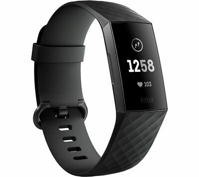 View Details FITBIT Charge 3 - Black & Graphite Universal - Currys • 74.99£