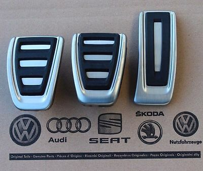 $ CDN172.63 • Buy Audi A4 B9 Original Pedalset Pedals S4 S-Line 8W Pedal Cover Pads For Manual Car