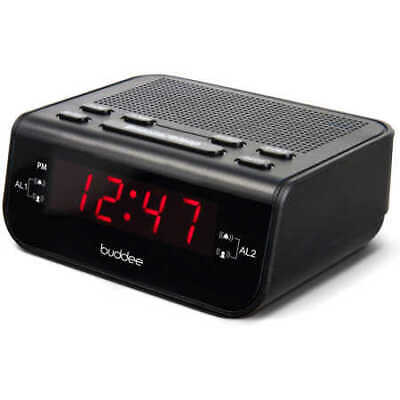 AU16 • Buy Buddee Digital Clock Radio (BD903203-BK)
