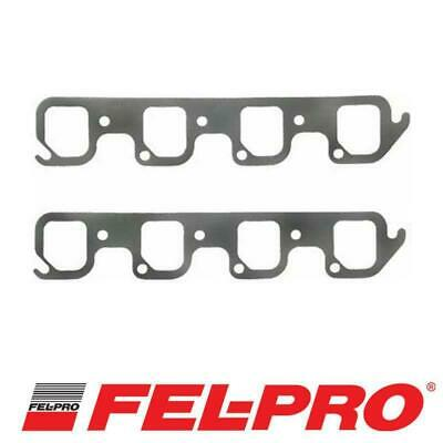 AU69.95 • Buy Fel-Pro Perforated Steel Exhaust Gasket Set Ford 351 Cleveland V8 4V Heads