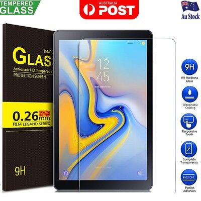 AU9.95 • Buy Tempered Glass Screen Protector For Samsung Galaxy Tab A 8.0 10.1 10.5 S4 S5e