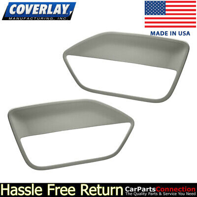 $143.31 • Buy Coverlay - Replacement Door Panel Insert Light Gray 12-59-LGR For Ford Mustang