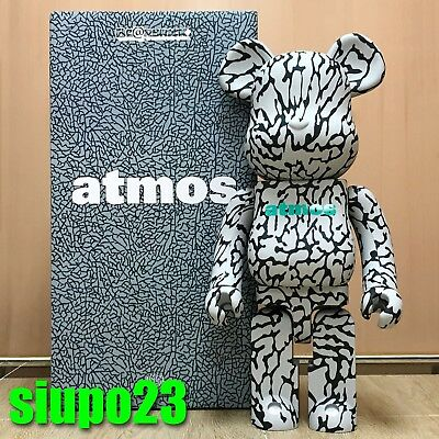 $899.99 • Buy Medicom 1000% Bearbrick ~ Atmos Elephant Be@rbrick
