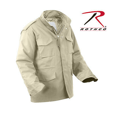 $90.99 • Buy M65 Khaki Field Jacket New With Liner