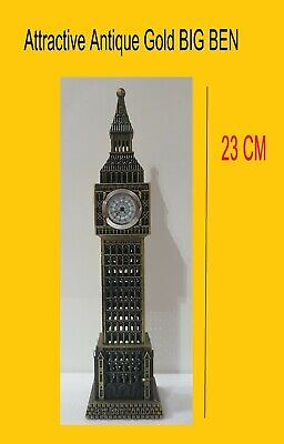 Big Ben Souvenir Piggy Bank + CLOCK Money Box Large Strong Plastic Metal Look  • 12.99£