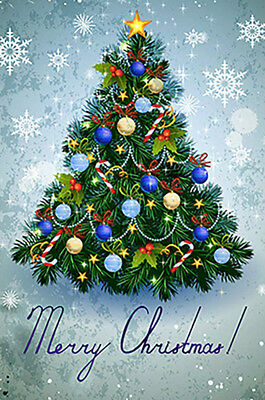 $5.99 • Buy Morigins Colorful Christmas Tree Happy New Year Snow Party Winter Garden Flag