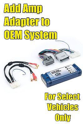 $38.95 • Buy PAC AOEM-GM24 GM Add An Amp Amplifier Adapter Interface To OEM Factory Radio