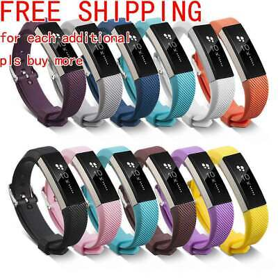 AU2.56 • Buy Silicone Replacement Wristband Watch Band Strap For Fitbit Alta / Fitbit HR Hi-Q