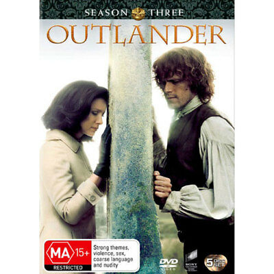 AU39.89 • Buy Outlander: Season 3 DVD NEW (Region 4 Australia)