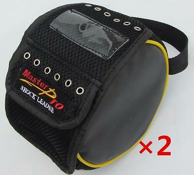 AU29.66 • Buy 2x Fishing Leader/Trace Line Feeder Bag Hold Up To 6 Spools, Fishing Tackle