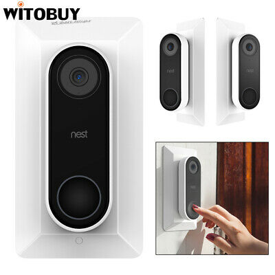 AU17.67 • Buy Wall Plate For Nest Hello Doorbell Holder With Adjustable Wedge