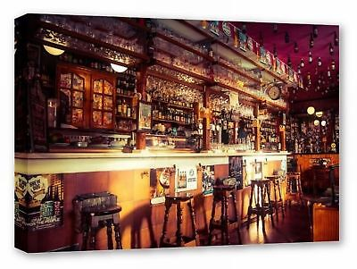 £26.99 • Buy Bar Pub Cafe Framed Canvas Wall Art Picture Print