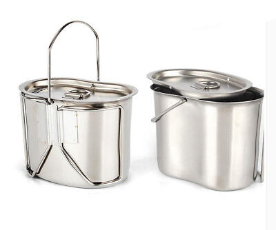 £20.13 • Buy Camping Cookware Camping Cooking Equipment Camping Pot Stainless Steel