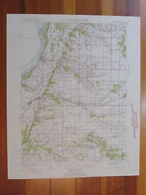 $ CDN56.18 • Buy Oquawka Illinois 1954 Original Vintage USGS Topo Map