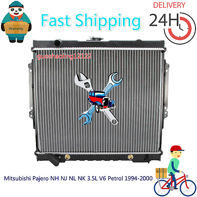 AU125 • Buy #Radiator For Mitsubishi Pajero NH NJ NL NK 3.5L V6 Petrol 1994-2000 Auto/Manual