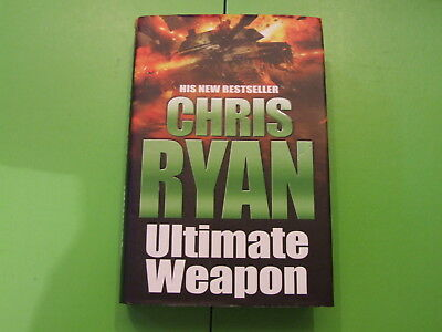 CHRIS RYAN HARD BACK 1st EDITION 2006, SIGNED ULTIMATE WEAPON • 12.49£