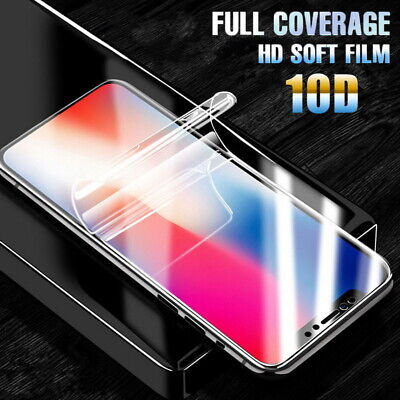 AU4.05 • Buy Hydrogel Film Screen Protector Front Back Skin For IPhone 12 11 Pro Max XR XS 8
