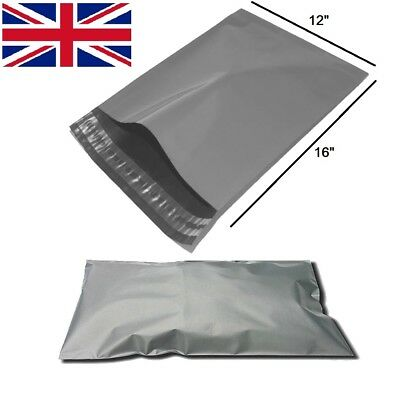 £1.99 • Buy A3 Size - 12  X 16  LARGE Grey Self Seal Mailing Bags Packaging Mailing Postage