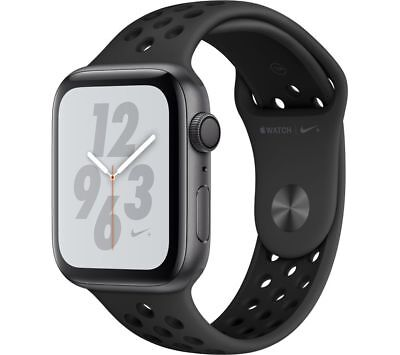 View Details APPLE Watch Series 4 Nike+ - Space Grey & Anthracite Sports Band, 44 Mm - Currys • 429.00£