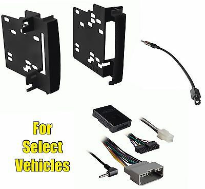 $129 • Buy Double Din Car Stereo Radio Install Kit Combo For Some Chrysler W/Steering Audio