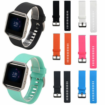 AU2.60 • Buy Replacement Silicone Wrist Band Bracelet Watchband Band For Fitbit Blaze Hi-Q