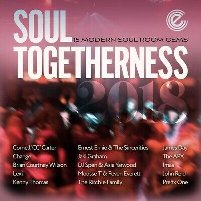 £14.69 • Buy Various Artists - Soul Togetherness 2018 / Various [New CD] UK - Import