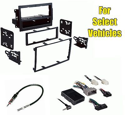 $129 • Buy Car Stereo Dash Kit Combo W/Steering Audio Control For Some Chrysler Dodge Jeep