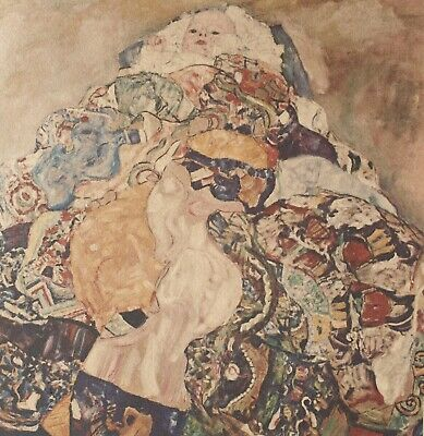 $ CDN297.97 • Buy Gustav Klimt, Baby 1917-18, Hand Signed Lithograph Limited Edition