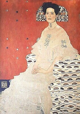 $ CDN428.18 • Buy Gustav Klimt, Portrait Of Frieda Reidel 1906, Hand Signed Lithograph Limited Ed.