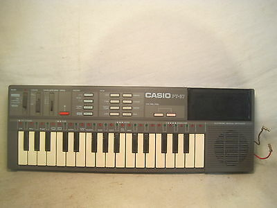 $36.90 • Buy *modified Vintage CASIO PT-87 Electronic Keyboard Musical Synthesizer Instrument