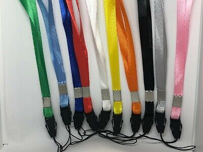 £1.95 • Buy Lanyard Neck Strap Card Holder Staff Camera Mobile Phone USB ID Badge Keys X 2