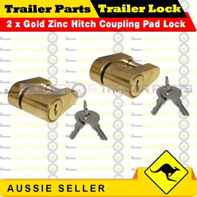AU24 • Buy Trailer Hitch Connecting Pin Lock Coupling Release Lever For Treg Pins - 2PCS