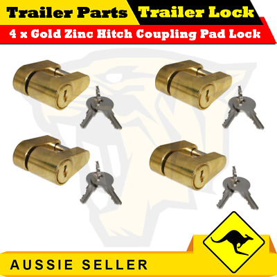 AU39 • Buy Trailer Hitch Connecting Pin Lock Coupling Release Lever For Treg Pins - 4PCS
