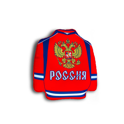 $12.97 • Buy Team Russia Hockey Jersey, Microbead Pillow