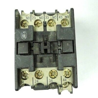 KLOCKNER MOELLER DIL-R40 CONTACTOR Relay 24V COIL 4 Pole Normally Open -  Tested