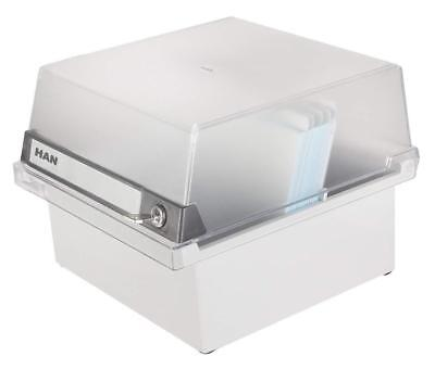 £37.36 • Buy Card Filing Box Office Record A5 Index Cards File Holder Storage Organizer Boxes